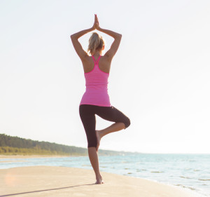 Yoga after breast augmentation